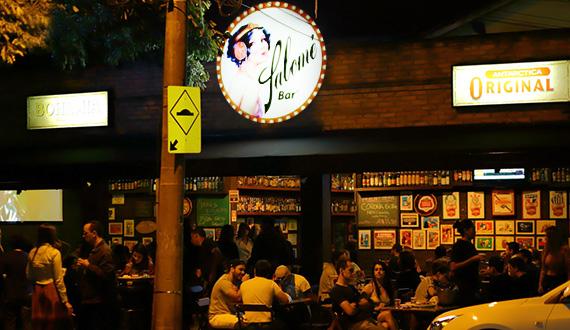 Fachada Salome Bar Sorocaba